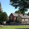 Sycamore Inn & St Peter's Church, Parwich
