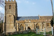 The 15th Century Church of St Lawrence Holwell