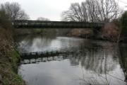 Preserved Bailey Bridge over River Don