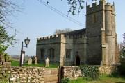 17th Century Church of St Lawrence - Folke