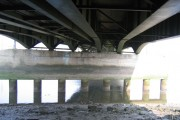 Under the Queensferry Bridge