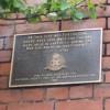 Forton Prison wall plaque