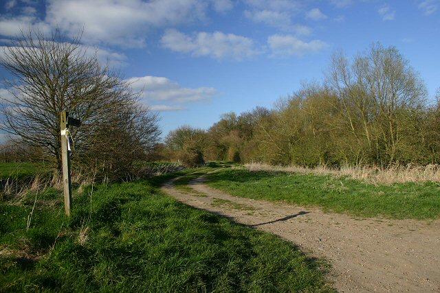 Bridleway to Finningham