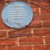 Bemisters Lane, wall plaque