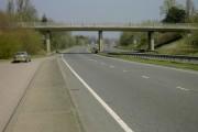 Bridge over A6 at Barton