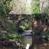 Stream bridge near Squibs Farm