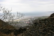Fairbourne from Golwen Quarry