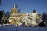 St Lawrence Church and churchyard