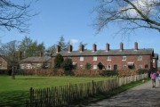 Terraced Houses and Primary School, Styal Village