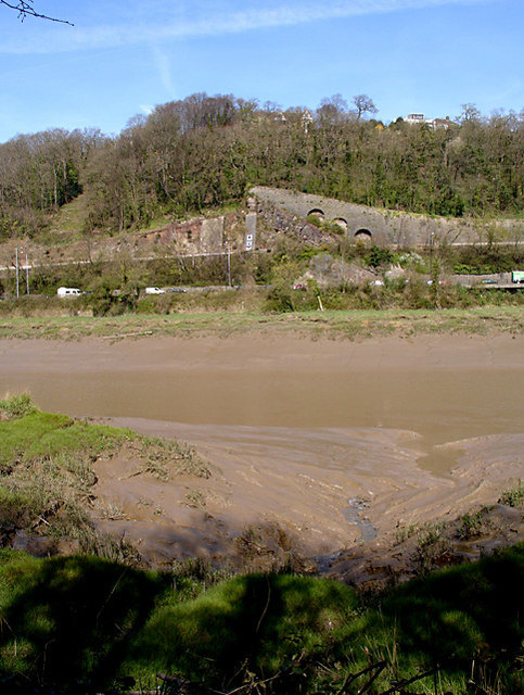 Looking across the River Avon to the Portway