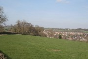 Below Benthouse Farm, looking to Upper Tean