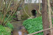Stream under Gribble Bridge Lane