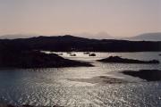 Fishing boats in Poll Creadha harbour, Applecross peninsula
