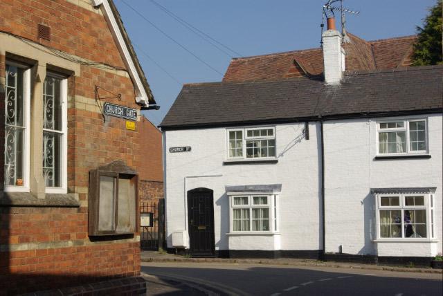 Church Street and Church Gate, Lutterworth