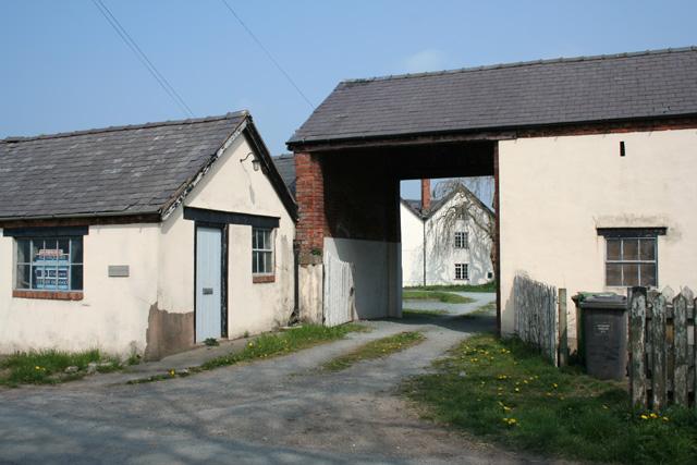 Fenn's Old Hall near Fenn's Bank