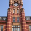 Tower above the entrance to John Summers' Building