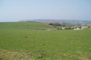 Farm land above Gara Rock