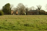 A view of Elm Lodge across Chippenhall Green