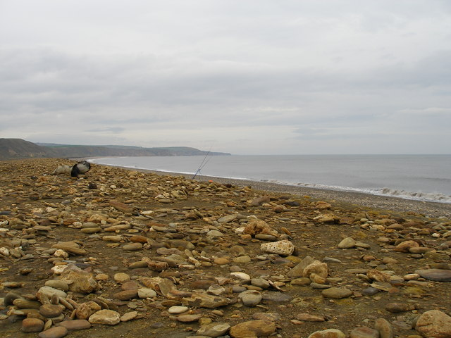 The beach at Denemouth