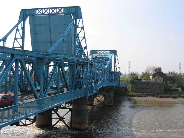 The Queensferry Blue Bridge and the Old Bridge Abutment