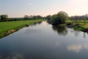 From the  bridge at Great Barford