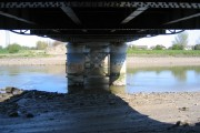 Underneath the Queensferry Blue Bridge