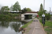 A4020 Bridge, Paddington Arm, Grand Union Canal