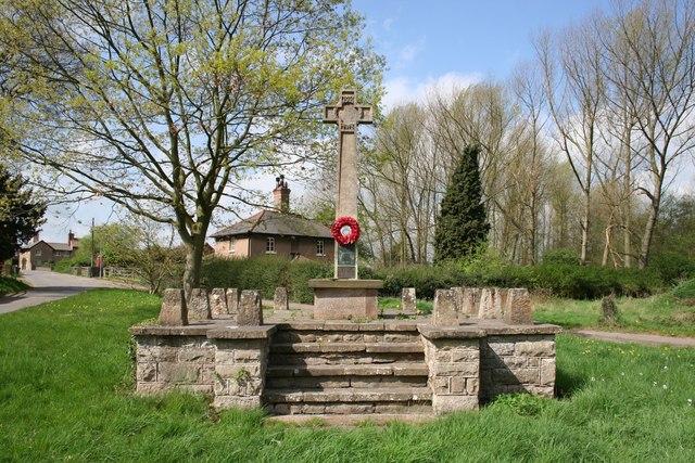 Budby War Memorial