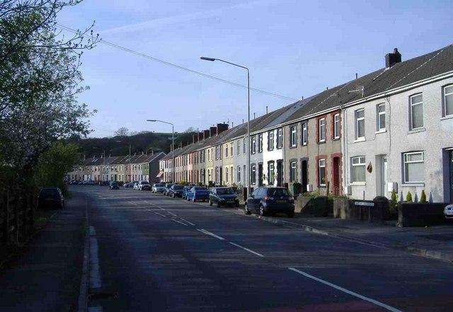 Nant Melyn Terrace, Thomastown