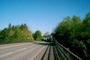 Pont Bolahaul dros yr A48/Bolahaul Bridge over the A48