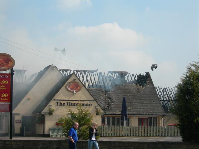 Huntsman Pub Fire