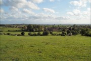 View over Upper Wardington