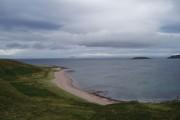 Beach from Rubha MacShannuich