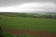 Farmland at Castle Dore