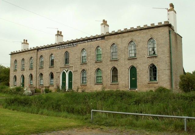 Almshouses at Hawstead