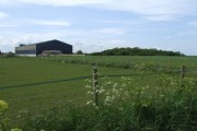 Fields and Large Barn, Sayer's Farm