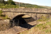 The Bridge spans the leat between Rhodeswood & Valehouse Reservoirs