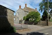 Entrance to Courtry Farm - Bridgehampton