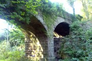 Bridge over disused railway track