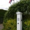 Parish pump and flagpole