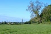 Field next to Lowfield Road