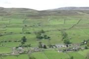 Feetham from across the dale.