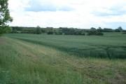 A1 views over farmland from near Duloe