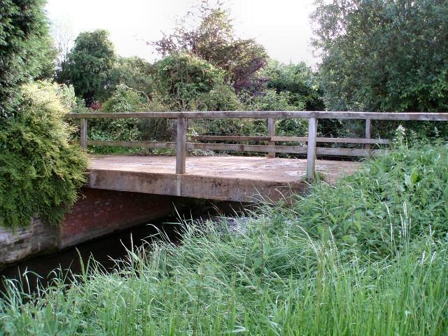 Bridge at Lower Grove Mill