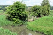 Drain culvert into the river Brede.