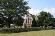 All Saint's Church and churchyard, Stanford