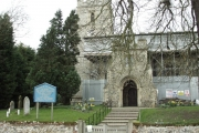 Walkern church