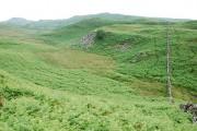 Moorland and wall