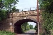 Railway bridge, Ollerton