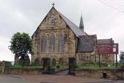 Saint Matthews Church looking east